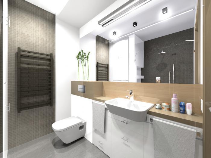 Mała łazienka Kim Architektura Wnętrza Pfont